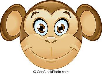 サル, emoticon