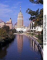 サン・アントニオ, usa., riverwalk
