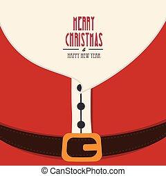 サンタクロース, クリスマス, 陽気, ひげ