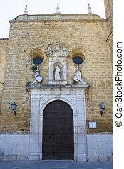 サンティアゴ, montilla, 教区, ファサド, 教会, 使徒, スペイン