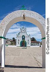 サンファン, chamula, chiapas, メキシコ\