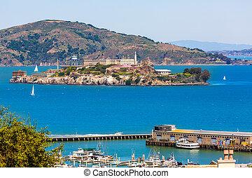 サンフランシスコ, alcatraz, penitenciary, カリフォルニア