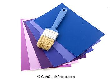 サンプルに色を塗りなさい, ∥で∥, ペンキ ブラシ