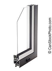 サンプル, アルミニウム, 窓