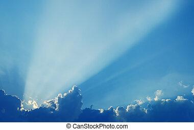 サン・レイ, 雲, 空