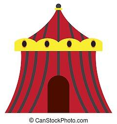サーカスの大テント, 隔離された