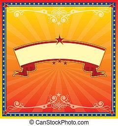サーカス, 黄色カード, 赤