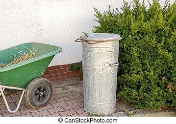 サービス, リサイクル, 無駄, ごみ, 都市