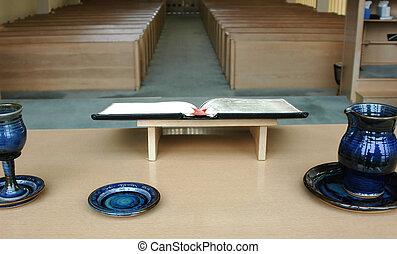 サービス, 教会