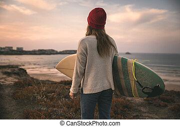 サーフィンをしなさい, 生活, 私
