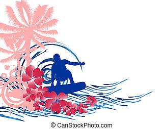 サーフィン, -, 夏