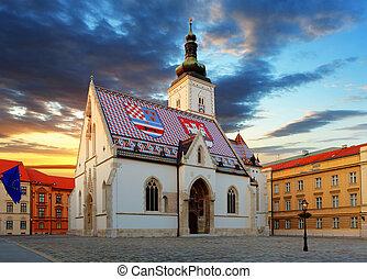 ザグレブ, 教会, -, st. 印