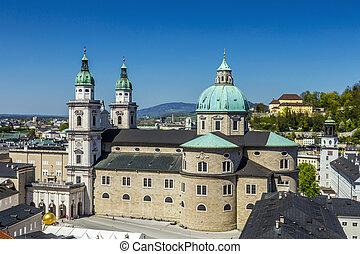 ザルツブルグ, 都市眺め, 古いカテドラル