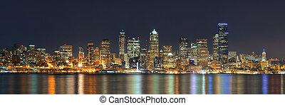 シアトルのスカイライン