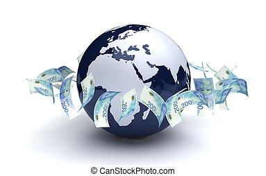 シェケル, 新しい, イスラエル, グローバルなビジネス