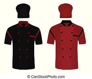 シェフハット, ワイシャツ, uniform.