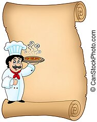 シェフ, スクロール, 保有物ピザ