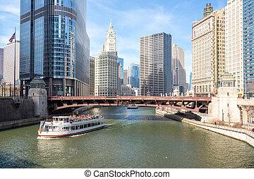 シカゴ, ダウンタウンに