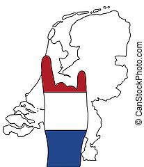 シグナル, 指, オランダ語