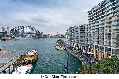シドニーの空中写真, スカイライン, オーストラリア