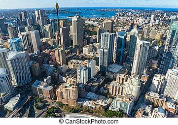 シドニーの空中写真, cbd