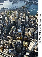 シドニー, オーストラリア, downtown.