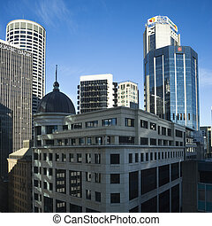 シドニー, オーストラリア, skyscrapers.