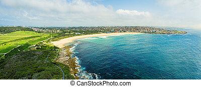 シドニー, パノラマの光景, 沿岸である, 海岸線