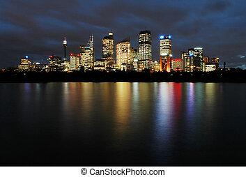 シドニー, 夜