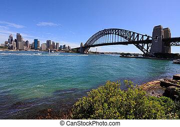 シドニー 港 橋, そして, 都市
