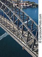 シドニー 港, bridge.