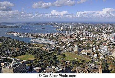 シドニー, 航空写真