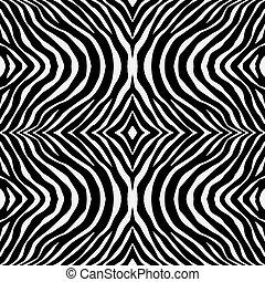 シマウマ, パターン, 背景, 手ざわり