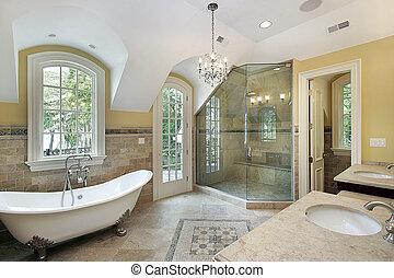 シャワー, マスター, 浴室, iwith, ガラス