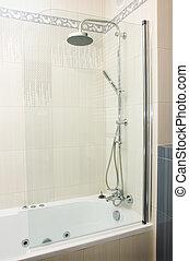 シャワー, 中に, 浴室
