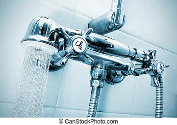 シャワー, 取得
