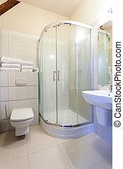シャワー, 白, 浴室