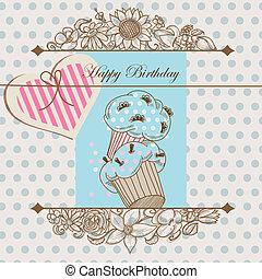 シャワー, birthday, テンプレート, 赤ん坊, ∥あるいは∥, カード