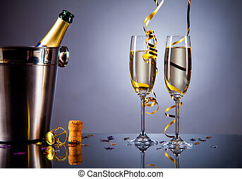 シャンペン ガラス