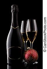 シャンペン。