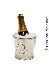 シャンペン, 氷