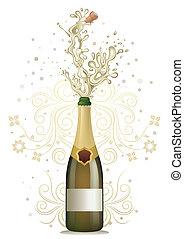 シャンペン