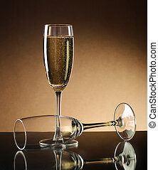 シャンペン, wineglass