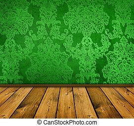シャープ, 緑, 型, interio