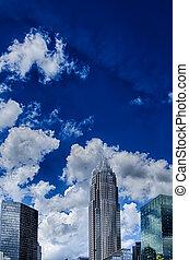 シャーロット, 北, 超高層ビル, カロライナ