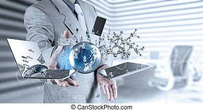 ショー, 現代 技術, ビジネスマン