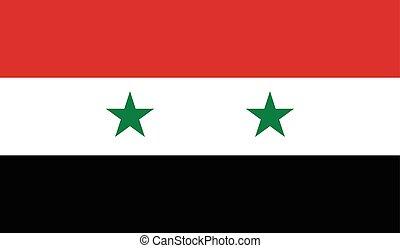 シリアの旗, イメージ