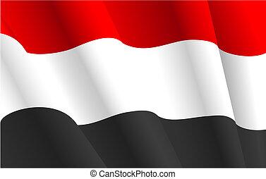 シリアの旗