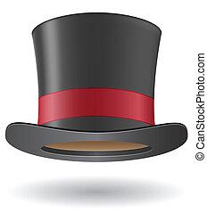 シリンダー, 帽子, ector, イラスト
