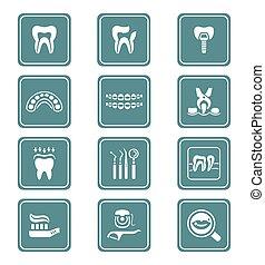 シリーズ, 歯医者の, 小ガモ, アイコン
